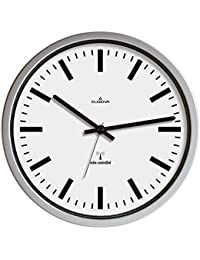 Dugena 4277465 - Reloj de pared analógico, color gris/blanco