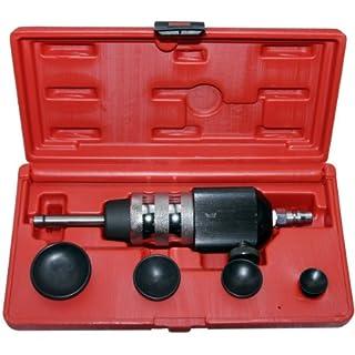 Druckluft Ventil Einschleif Werkzeug Ventilläpper Saugnapf (Druckluftgetriebene Ventileinschleifwerkzeug) 20 30 35 45 mm 5-tlg.