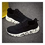YAYADI Schuhe Herren Sneakers Camouflage Mens Schuhe Casual Atmungsaktiv Männer Schuhe Qualität Gewebte Outdoor Schuhe Jogging Fitness Schuhe Leicht, 7,5