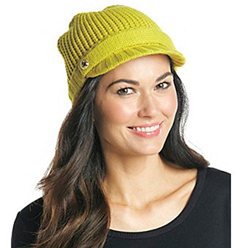 Michael Kors Acid Lemon Peak Hat