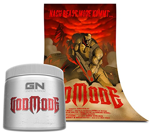 Special Edition GN Laboratories Godmode 150g (Lemon Ice - Zitrone) inkl. Poster