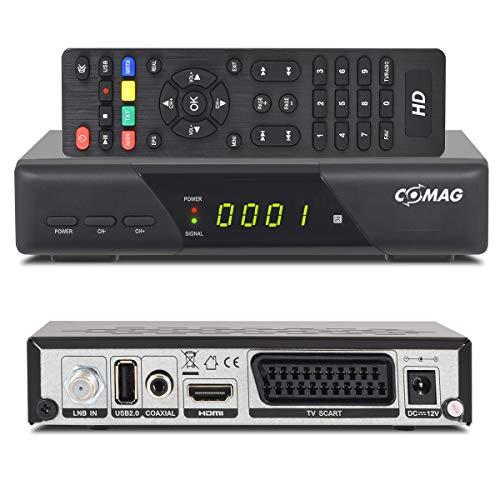 Comag HD25 Volks-Receiver HDTV HD Satelliten Receiver SAT schwarz + USB 2.0, DVB-S2, HDMI, SCART + HDMI EasyFind Easy Find + Astra 1080p digital digitaler Satellitenreceiver