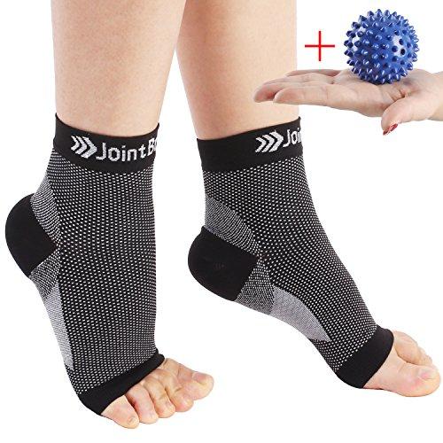 Kompressionssocken, schmerzlindernde Fußgelenk Bandage/Sprunggelenkorthese zur Unterstützung des Fußgelenks, Fußgelenkstütze / Knöchelschonerfür Damen & Herren(1 Paar)