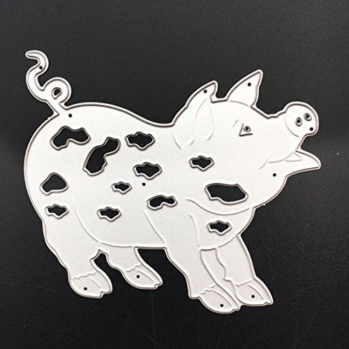 Xshuai/® Personality Handmade Cutting Dies Stencil Metal Embossing Album Paper Card Craft Lessons Party Decor 12 animal-shaped Scrapbooking I