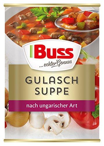 Buss Gulaschsuppe nach ungarisch...