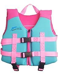 3bd4baf0a Hony Niños Chaleco Flotante Aprender a Nadar Flotador Ajustable Bebé Traje  de Chaleco Natación Traje de