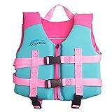 Kinder Badeanzug Schwimmanzug - Jungen Swimwear Mädchen Bademode ärmellos Baby Badebekleidung Einteiler mit Schwimmflügel Schwimmen Trainer