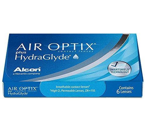 Air Optix HydraGlyde Monatslinsen weich, 6 Stück / BC 8.6mm / DIA 14.2 / -5 Dioptrien - 3