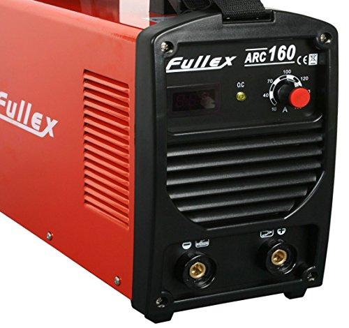 FULLEX ARC MMA 160 AMPER E-HAND ELEKTRODEN SCHWEIßGERÄT INVERTER - SIEMENS IGBT