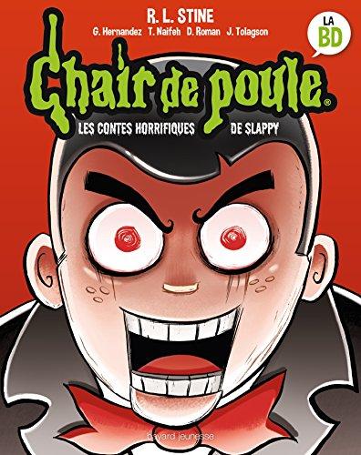 Les contes horrifiques de Slappy: BD Chair de Poule