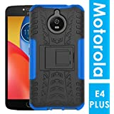 [Sponsored]Noise Motorola Moto E4 Plus Hybrid Case - Dual Layer Protection TPU+PC With Inbuilt Kickstand|| Shockproof Protective Back Cover For Motorola Moto E4 Plus [Blue Hybrid Case]