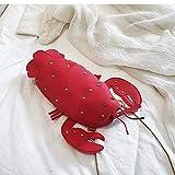 WANGDANDAN Persönlichkeit Roter Hummer Frauen Crossbody Messenger Bag Pu Leder Damen Kleine Krebse Handtasche