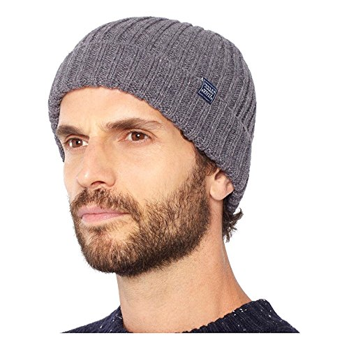 Joules Womens/Ladies Bamburghhat Cable Knit Acrylic Beanie (Cable Beanie Knit Womens)