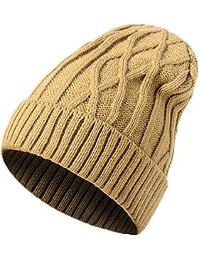 Youson Girl® Gorras Unisex De Invierno Sombreros De Punto Chica Moda Slouchy Beanie Boinas De Esquí Sombrero De...