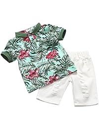 iBaste Niños camisetas de algodón + Pantalones cortos del Muchachos Conjuntos de bebe Niño de la Moda 2016 Nuevo