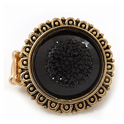 effetto-vintage-rinforzo-elasticizzato-audrey-anello-sfaccettato-in-acrilico-con-dettagli-in-colore-