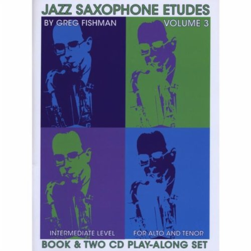 Jazz Saxophone Etudes, Vol. 3
