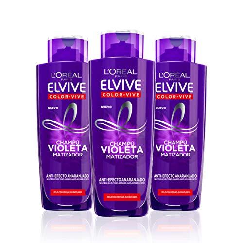 L'Oréal Paris Elvive Color Vive Champú Violeta Matizador