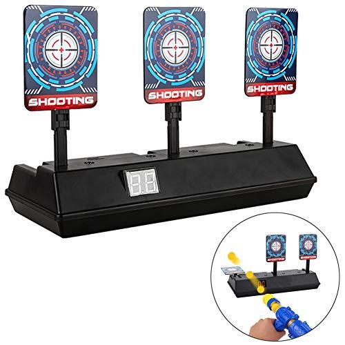 KuoYi Zielscheibe für Nerf Elektro Automatische Wiederherstellung Schießscheiben Pistole Bullet Shooting Target für Nerf Pfeile Guns N-Strike Elite / Mega / Rival-Serie