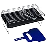 #10: Hokipo Portable And Folding Charcoal Bbq Kebab Grill With Carry Bag