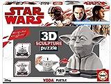 Educa - 16501 - Sculpture Puzzle 3D - Yoda - 160 Pièces