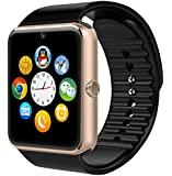 MOKEBAO Wearable Bluetooth Smart Watch GT08 Smart Health Wrist Watch Phone with SIM Card Slot for Android Samsung HTC LG SONY (Full Functions) IOS iPhone 5/5s/6/plus(Partial functions)