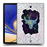 Head Case Designs Stier Sternbild Der Sternzeichen Ruckseite Hülle für Samsung Galaxy Tab S4 10.5 (2018)