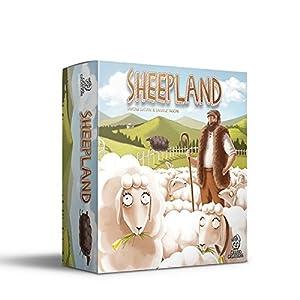Cranio Creations - Sheepland, juego de mesa en castellano, inglés, italiano y catalan (CC031)