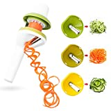 Spiral Slicer, Vegetable Spiralizer and Pasta Maker Mandolin Cutter for Zucchini Cucumber Carrot Noodle Spaghetti