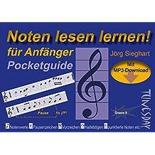 Noten lesen lernen - Pocketguide für Anfänger - inkl. MP3-Download & Video!
