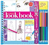My Fabulous Look Book: Fashion Drawing Made Easy [With Paper Frames and 5 Colored Pencils] (Klutz)