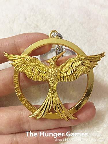Hunger Games 3 Schlüsselanhänger Anstecker, Vögel, Spottvogel, Tribute von Panem 3rd Generation Keychain Einheitsgröße