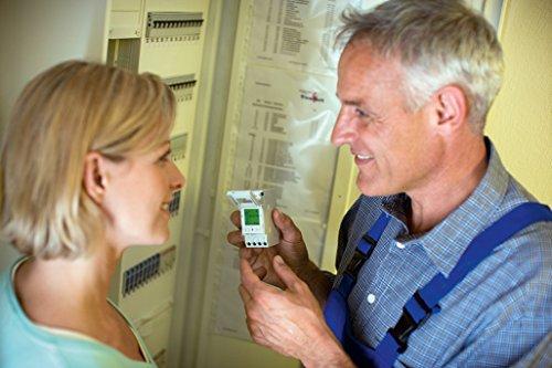 Grässlin Talento 371 Easy Plus Interruptor Horario Digital, Blanco