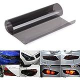 QEUhang - Lámina para tintar faros de vehículos (autoadhesiva, 120cm x 30cm, 2 unidades)