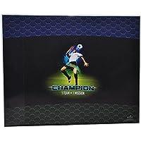 Preisvergleich für Schreibtischunterlage Fussball 50 cm * 39 cm - Unterlage / Knetunterlage / Tischunterlage für Jungen Kinder Fußball Champion Sport