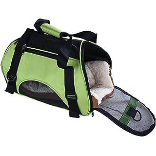 Pet Cuisine atmungsaktiv weichen Transporttasche für Haustiere Hund Katze Komfort Oxford Gewebe mit Matte