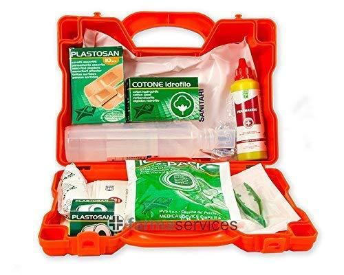 VALIGETTA ALLEGATO 2 cassetta medica primo pronto soccorso fino a 2 dipendenti (cod. articolo VA079)