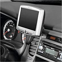 KUDA consola de navegación es adecuado para Navi Kia Rio desde 10/05Mobilia/negro de piel sintética