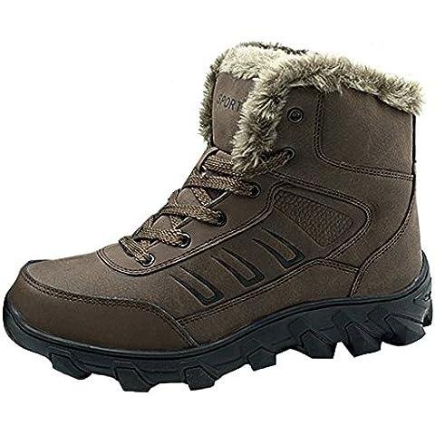 Giacca impermeabile neve stivali in pelle pelliccia