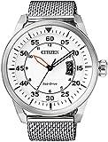 Solaruhr Herren Citizen Milanaise Eco-Drive Elegant Herrenuhr AW1360-55, Uhren Variante:N°1