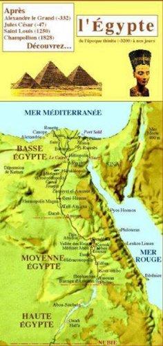 CHRONOLOGIE DU GUIDE DE L'EGYPTE (NOUVEAUTÉ)