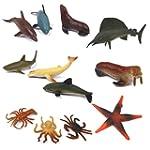 Plastic Kids Toy Model Sea Animal Fig...