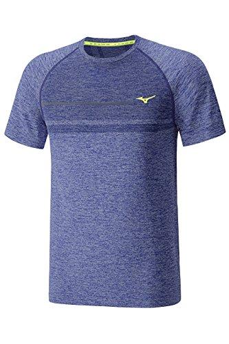 Mizuno - T-Shirt Da Uomo Tubular Helix , Colore Clematis Blue, Taglia Xl Blue