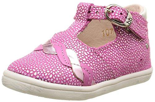 Babybotte Palmela, Chaussures Bébé marche bébé fille Rose (107 Fuchsia)