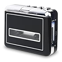 Portable Cassette Player Walkman & Cassette to MP3 Converter, Convert Cassette Tapes to MP3 & CD With New Convenient Software (AudioLAVA)