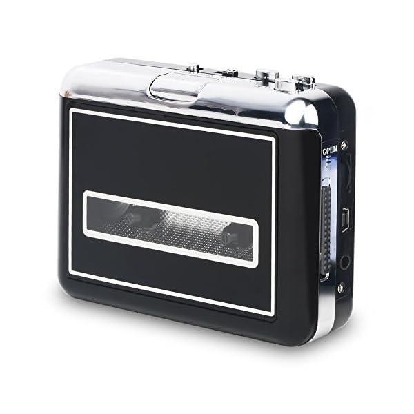Convertitore musicassette in formato MP3