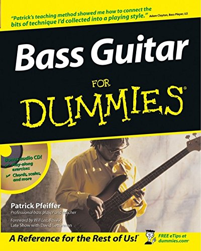 Descargar Libro Bass Guitar For Dummies de Patrick Pfeiffer