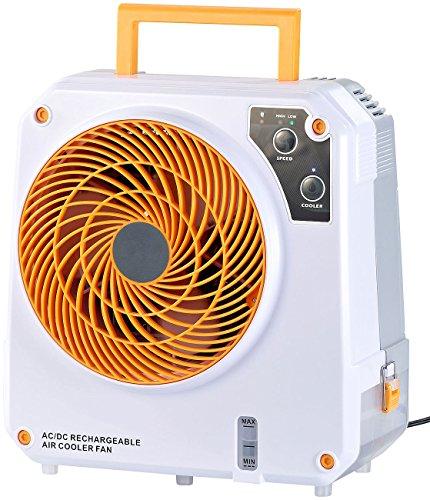 Sichler Haushaltsgeräte Akku Klimaanlage: High-Power-Akku-Luftkühler mit Wasserkühlung, 26 Watt, 150 ml/Std. (Luftkühler Mini Klimaanlage)