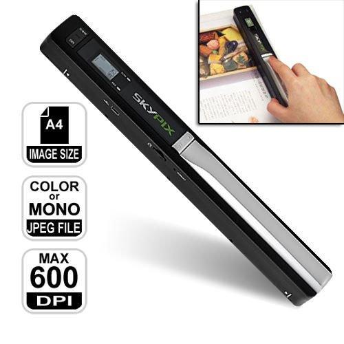Scanner portatile a4 senza fili  risoluzione max 900 dpi