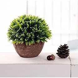 PANGUN Colorful Künstlichen Baum Ball Pflanzen Topf Garten Büro Haus Dekor Blume-3#